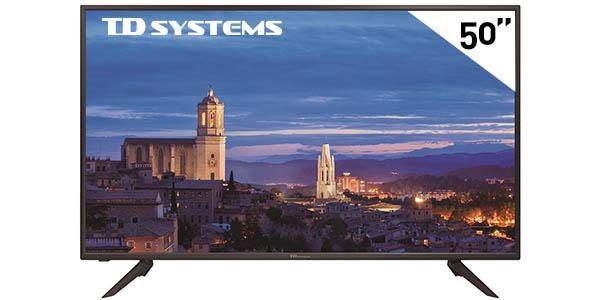 "Televisor LED TD Systems K50DLH8F de 50"" Full HD"