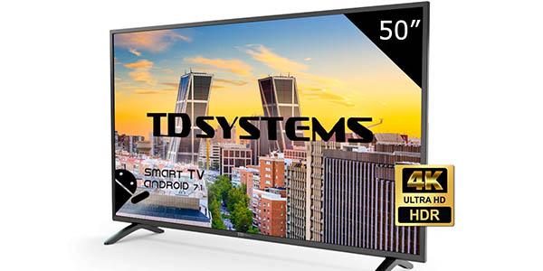 """Televisor LED TD Systems K50DLM8US de 50"""" barato"""