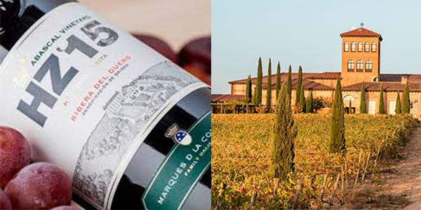 Vino tinto Hacienda Abascal Crianza (D.O Ribera del Duero) de 750 ml barato