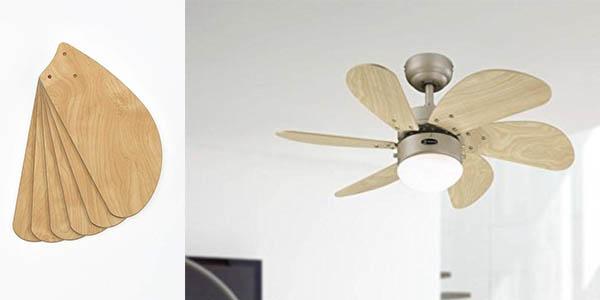 Westinghouse 78158 Turbo Swirl ventilador de techo barato