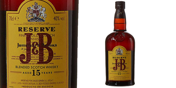 JB Reserva Blended Scotch Whisky de 700 ml chollo en Amazon