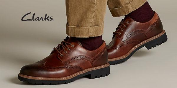 Zapatos de cordones Clarks Batcombe Wing para hombre baratos en Amazon