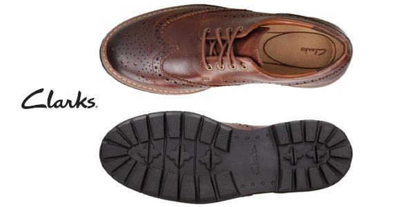 Zapatos de cordones Clarks Batcombe Wing para hombre chollo en Amazon