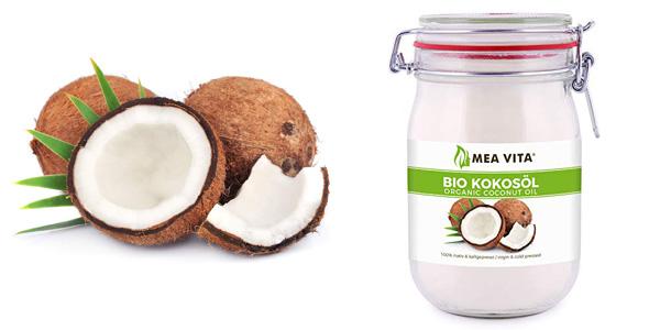 Aceite puro de coco virgen extra orgánico MeaVita de1 L barato en Amazon