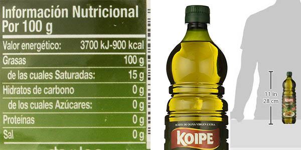 aceite de oliva virgen Extra Koipe 1 litro oferta