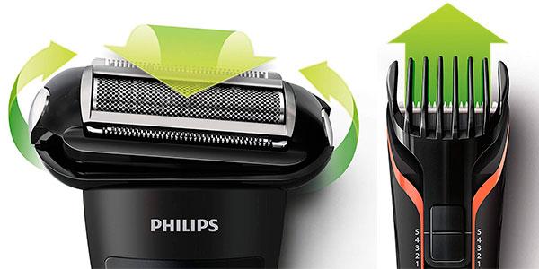 Afeitadora corporal Philips BodyGroom TT2039/32 inalámbrica con cabezal de recorte y de afeitado barata