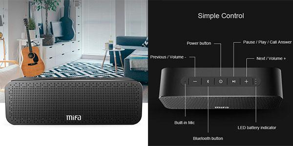 Altavoz MIFA SoundBox Bluetooth de 30 W barato
