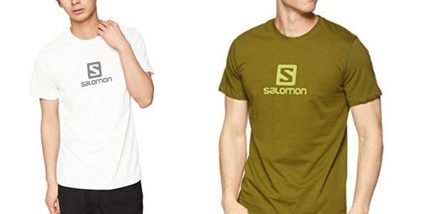 Camiseta Salomon Coton Logo SS Tee barata en Amazon