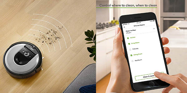aspirador inteligente iRobot Roomba i7156 chollo