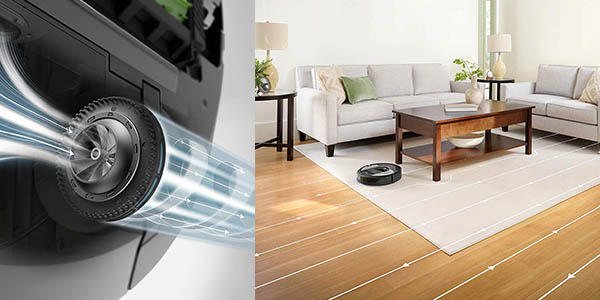 aspirador robot Roomba i7156 programable chollo