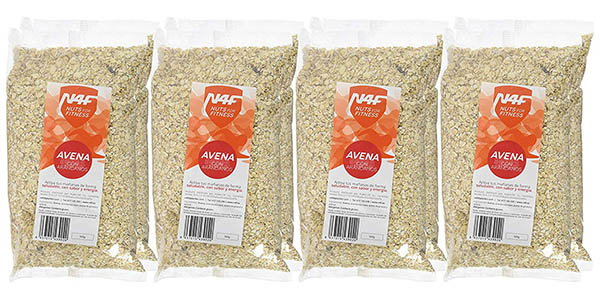 avena con aloe vera kiwi o arándanos N4F Nuts for Fitness oferta