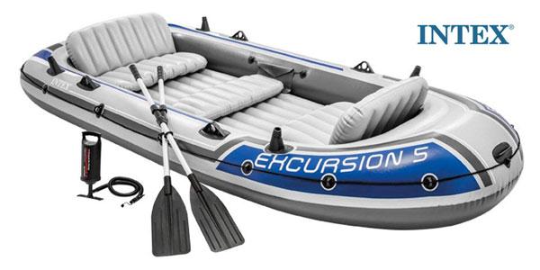 Barca Hinchable INTEX Excursión 5 barata en Amazon