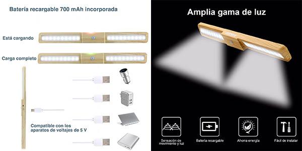 barra de luz auxiliar Hosdey para armarios oferta