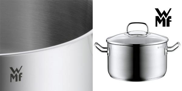 Batería de cocina de 4 piezas WMF Profi Plus acero inox 18/10 chollazo en Amazon