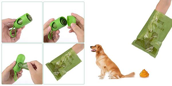 bolsas para excrementos de mascotas biodegradables pack ahorro