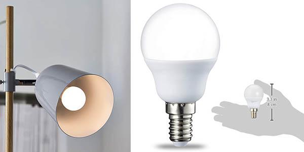 bombillas AmazonBasics LED E14 pack ahorro