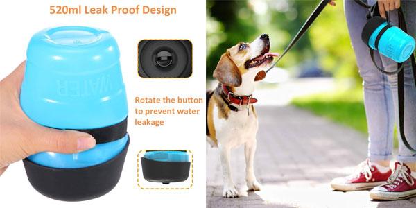 Botella de Agua DADYPET para perros y gatos chollo en Amazon