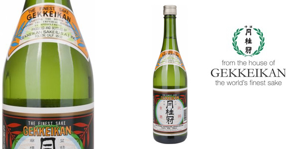 Botella Sake GEKKEIKAN de 750 ml barato en Amazon