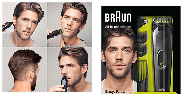 Braun MGK3021 máquina de cortar pelo y barba nariz y orejas oferta