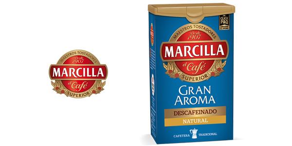 Marcilla Café molido descafeinado natural de 200 g barato en Amazon