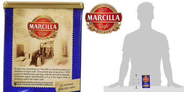 Marcilla Café molido descafeinado natural de 200 g chollo en Amazon