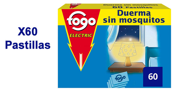 Pack x 60 Pastillas Fogo Anti-Mosquitos Insecticida barato en Amazon
