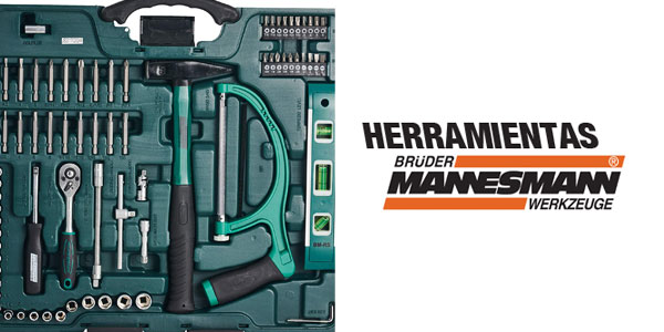 Maletín de herramientas Mannesmann M29085 universal chollazo en Amazon