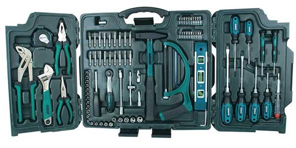 Maletín de herramientas Mannesmann M29085 universal barato en Amazon