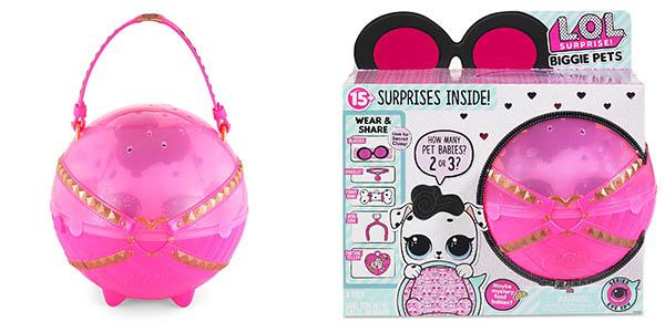 caja de sorpresas LOL Biggie pets chollo