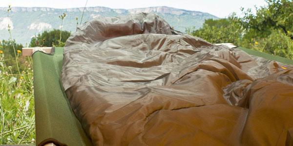 Cama de Camping plegable Milestone chollazo en Amazon