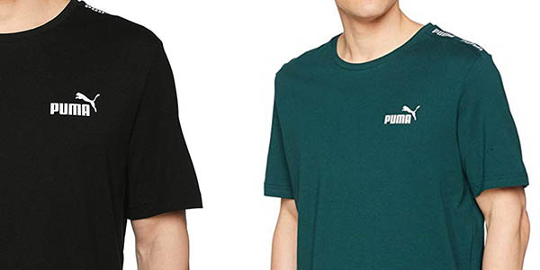 camiseta de algodón Puma Amplified tee oferta