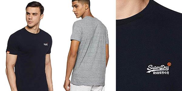 camiseta casual Superdry Orange Label oferta