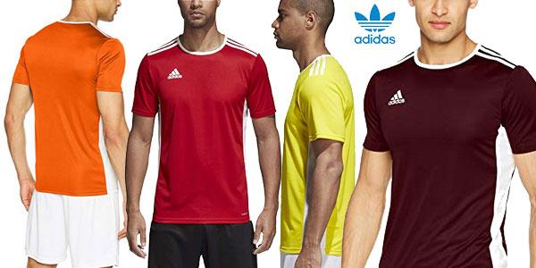 Chollo Camiseta Adidas Entrada 18 para hombre por sólo 10,45€