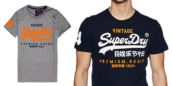 camiseta de manga corta Superdry Premium Goods Duo Lite tee oferta