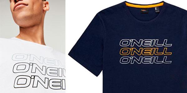 Camiseta O'Neill Triple Logo para hombre barata