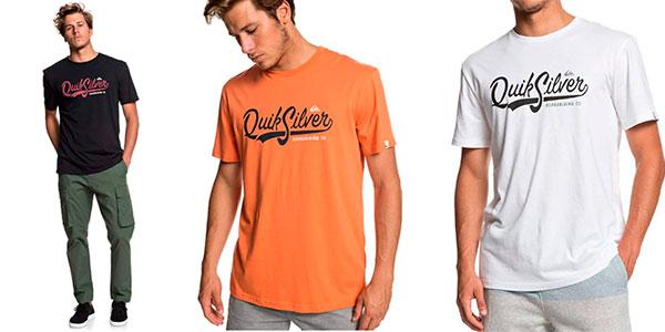 Camiseta estampada Quiksilver Quik Pool para hombre barata