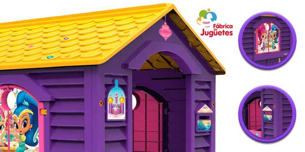 Casita de juguete Shimmer And Shine (Fábrica de Juguetes 89567) chollazo en Amazon