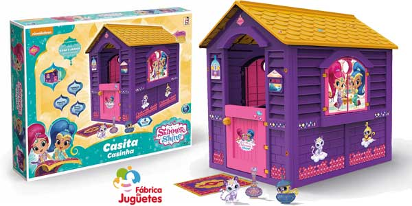 Casita de juguete Shimmer And Shine (Fábrica de Juguetes 89567) barata en Amazon