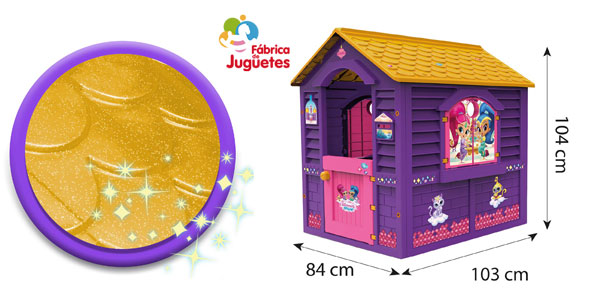 Casita de juguete Shimmer And Shine (Fábrica de Juguetes 89567) chollo en Amazon