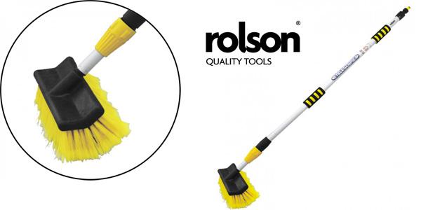 Cepillo telescópico Rolson 61010 de limpieza para coche barato en Amazon