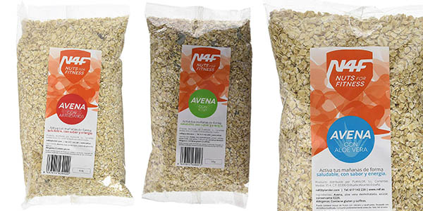 cereales de avena N4F Nuts for Fitness pack ahorro