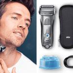 Chollo Afeitadora eléctrica Braun Series 7 7898 cc Wet & Dry con estación de limpieza