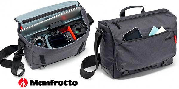 Chollo Bolsa Manfrotto Manhattan Messenger Speedy 10 para cámara DSLR/CSC y portátil