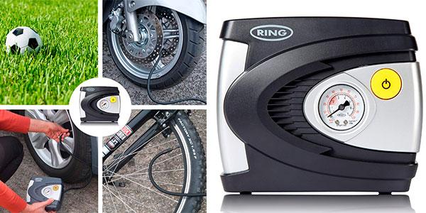 Chollo Compresor de aire Ring Automotive RAC610 para neumáticos