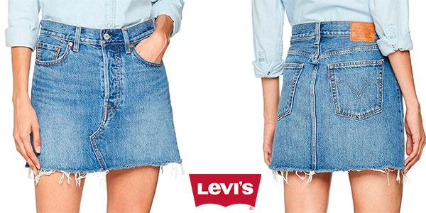 Chollo Falda Levi's Deconstructed Skirt para mujer