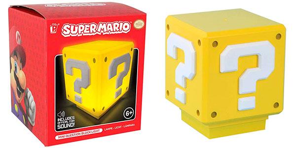 Chollo Lámpara de Super Mario Bros con USB