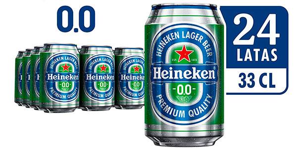 Chollo Latas de cerveza Heineken 0,0 sin alcohol