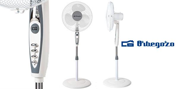 Chollo Ventilador de pie oscilante Orbegozo SF0147 de 50 W