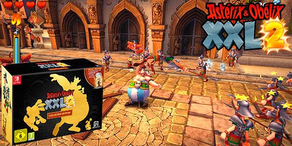 Chollo Videojuego Asterix & Obelix XXL 2 Collector's Edition con figura para Switch