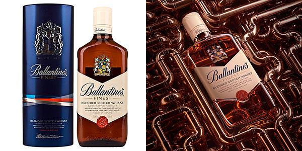 Chollo Whisky Ballantine's de 700 ml en caja metálica